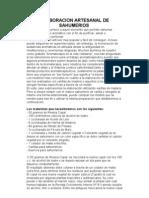 Elaboracion Artesanal de Sahumerios