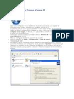 Cómo configurar el Proxy de Windows XP