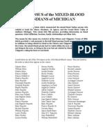 Census of the Michigan Metis