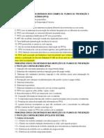 Principais erros verificados em exames e inspeções de PPCIs