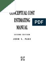 John S. Page, Conceptual Cost Estimating Manual