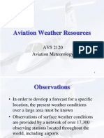 Aviation Weather Sources