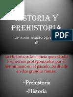 Historia y Prehistoria 1B Aaron Goyes Pérez