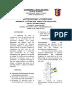 Informe DRX