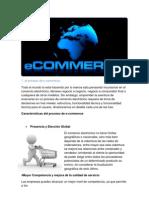 caracteristicas, infraestrustura, arquitectura y funcionalidad de E-commerce