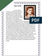 Biografía de Felipe Carrillo Puerto