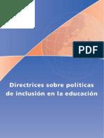 Directrices sobre políticas