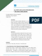 Universo Gora AC. Working Paper. 1