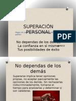 SUPERACIÓN PERSONAL