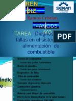 DIAGNOST DE FALLAS EN EL SIST DE ALIMENT DE COMB.pptx
