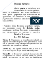 Direito Romano Slides