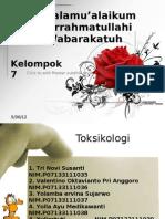 presentasi Toxsikologi Arsen