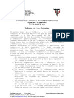 Migración y Subjetividad - Informe APA