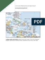Map. 2008. Mapa político del mundo. Detalle del área del Caribe. Arnau P