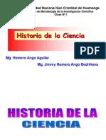 C1 HISTORIA DE LA CIENCIA
