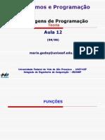 Algoritmos e Programacao - TEORIA - Aula 12