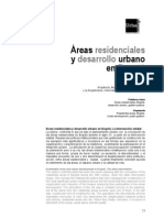 Areas Residenciales Desarrollo Urbano
