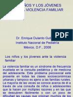 Ninos Jovenes Ante Violencia Familar 2008