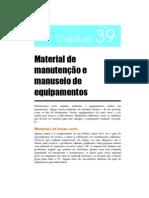 cap39 - Material de manutenção e manuseio de equipamentos