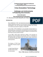 2007 the TOYO Urea Granulation Technology
