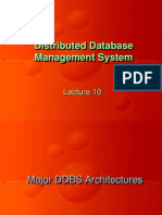 Distributed DBMS - CS712 Power Point Slides Lecture 11