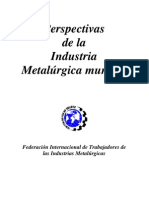 Import an CIA de La Industria Metalurgica