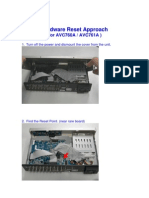 AVC760A 761A Hardware Reset