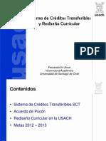 SISTEMA DE CREDITOS TRANSFERIBLES  Y REDISEÑO CURRICULAR