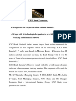 Icici Bank Expansion