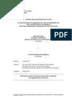 Dotcom & Ors v USA Disclosure)