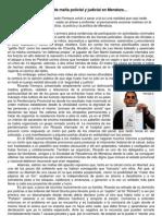 Hablemos de mafia policial y judicial en Mendoza