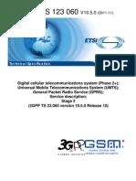 3GPP Technical Specification 23.060