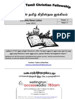 Wellington Tamil Christian Fellowship News Letter June 2012