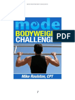 Mode Body Weight Challenges