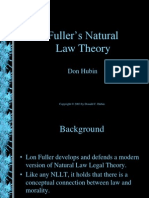 Fuller's Natural Law Theory