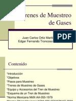 TRENES DE MUESTREO