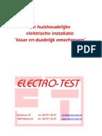 Et-boek Huishoudelijke Ei Voor Particulieren - 30.09.09
