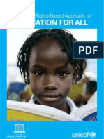 Human Rights-based Approach to Education for All