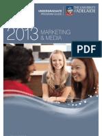 Marketing and Media Program Information Leaflet