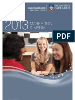 Marketing and Media Program Information Leaflet