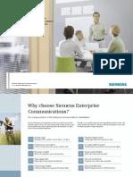 Reasons to choose Siemens
