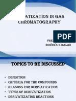 Derivatisation Techniques Ppt