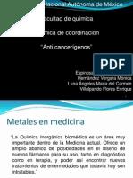 Anticancerigenos cisplatino