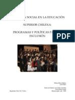 Exclusión social en la educacion superior chilena