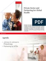 Private Sector Partnering for Global Health by Dr. W. Lin