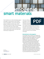 Chromogenic Smart Materials