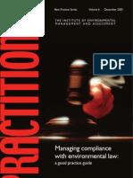 Manage Envio Laws