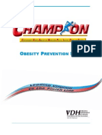 CHAMPION Obesity Prevention VA