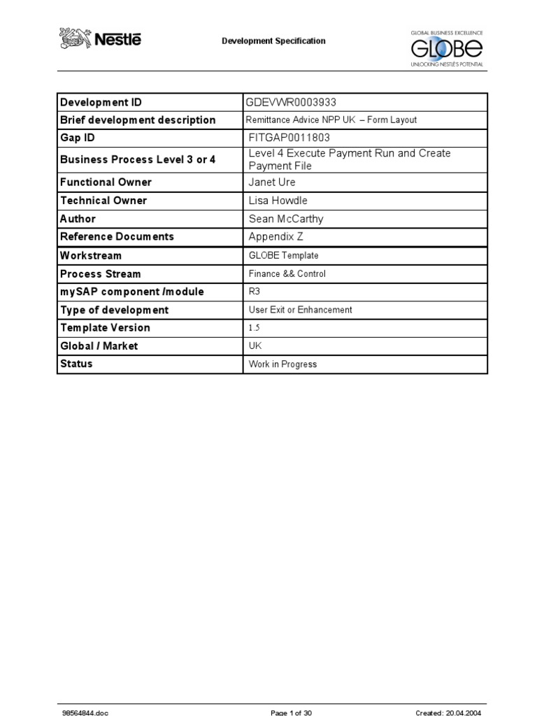 Stunning Remittance Advice Template Gallery - Example Resume Ideas ...