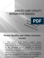 Power Quality and Utility Interface Issue